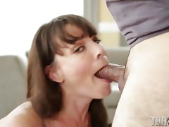 An ass tease and deepthroat bj from dana dearmond tubes