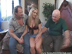 Hotwife leanrs to screw another man tube