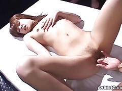 Sexy japanese babe is used and abused uncensored tubes