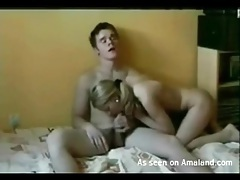 Busty blonde gf looks hot as hell in doggystyle tubes