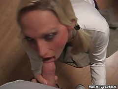 Schoolgirl uniform on girl sucking dick in pov tubes