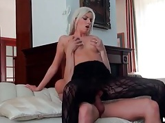 Hottest blonde he has ever had on his cock tubes