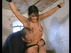 Girl bound in his basement likes pain tubes