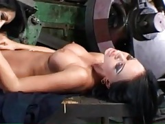 Beauty in boots dildo fucked by lesbian lover tubes