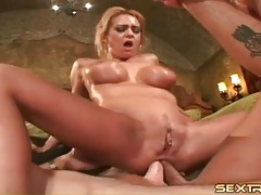 Double anal of pornstar trina michaels tubes