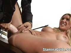 Hot blonde  got a huge cock on her face tubes