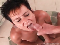 Milf cocksuckers rewarded with facial cumshots tubes
