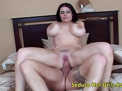 Big tits brunette had a cream on tit fuck tubes