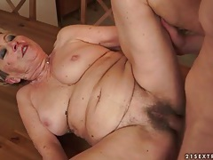 Fucking mature snatch on the kitchen table tubes