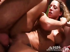Blowing loads on the horny sluts in gangbang tubes