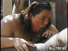 Fat women suck dicks to hardness outdoors tubes
