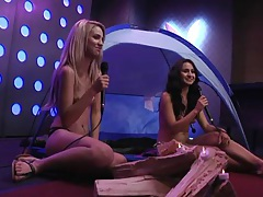 Fit celeb chick interviews during a playboy video tubes