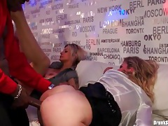 Women laid from behind at a hot party tubes