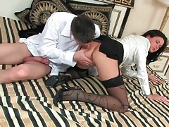 Soft white blouse on girl he fucks deep tubes