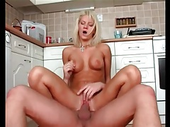 Licking a perky tits blonde so he can fuck her tubes