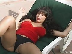 Curvy latina outdoor hardcore sex in pov tubes
