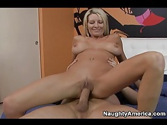 Emma starr the slutty blonde milf rides cock tubes