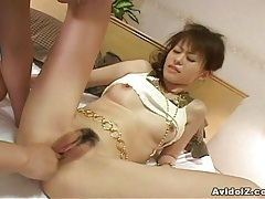Japanes babe gets fucked uncensored tubes
