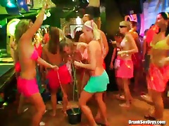 Bikini bodies on incredible chicks in the club tubes