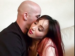 Making out with foxy asian that wants his cock tubes