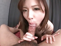 Japanese sweetheart rims his asshole tubes