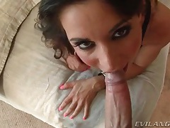 Sexy ball sucking video with big facial tubes