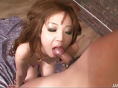 Hot japanese girl likes to suck dick lustily tubes