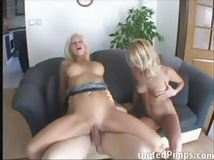Blonde sucks dick that ass fucks her friend tubes