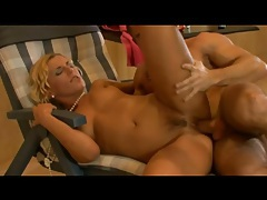 Watch her cunt close up as he fucks her lustily tubes