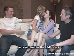 Young sex parties - sharing girlfriends is fun tubes