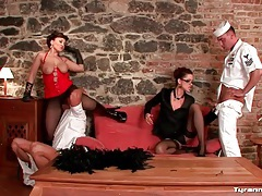 Sailors worship pussy and ass of sexy women tubes