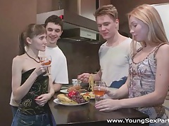 Young sex parties - teen swingers fuck together tubes