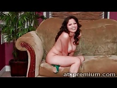 Arousing evie delatosso strips and chats tubes