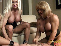 Ashlee, wildkat, and alura - 4-way fun tubes