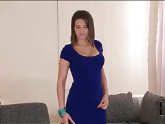Curvy cinthia doll in little blue dress tubes