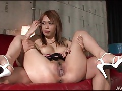 Tit and pussy play with cute japanese girl tubes