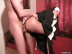 Gf dressed as nun has hot hardcore sex tubes