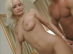 Group scene ends with cum shower for a slut tubes