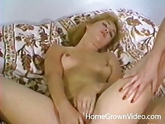 Retro lesbian dildo sex with hairy cunt girls tubes