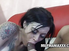 Vanessa naughty - tattooed brunette fucked by a bbc tubes