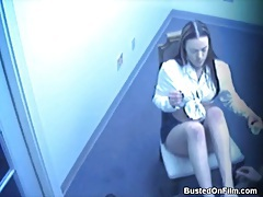 Voyeur video of schoolgirl giving footjob tubes