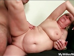 Young man with stamina fucks fat old bitch tubes