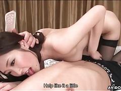 Cocksucking and titjob fun with japanese girl tubes