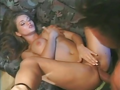 Thick cock slowly fucks ass of busty babe tubes