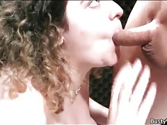 Curly hair bbw opens her legs and fucks tubes