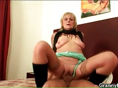 Granny in boots and stockings doggystyle sex tubes