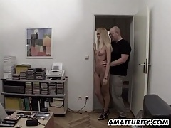 Amateur girlfriend sucks and fucks 3 dicks tubes