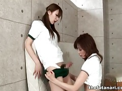 Sporty asian chicks in naughty dickgirl video tubes