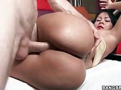 Gigantic ass latina paola rides cock tubes