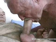 Fat daddy gets barebacked by mature friend tubes